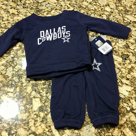 10fd3c0b Infant Dallas Cowboys Set NWT